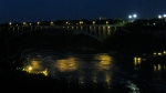Near the Niagra Falls at Night