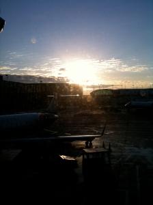 Sunrise at O Hare