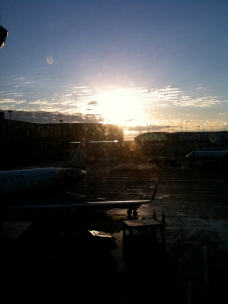 Sunrise at O Hare